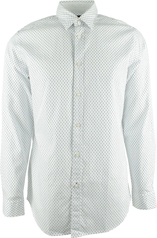 Hugo Boss Men's Lukas Regular Fit Long Sleeve Shirt