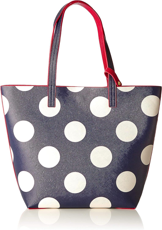 Joules Women's Revery Print Shoulder Bag bluee (Navy Spot)