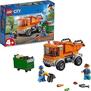 LEGO City وسایل نقلیه بزرگ کامیون زباله 60220 Building Kit، New 2019 (90 Piece)