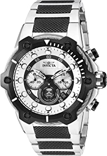 Men's Star Wars Quartz Watch with Stainless-Steel Strap, Two Tone, 25.8 (Model: 26208)