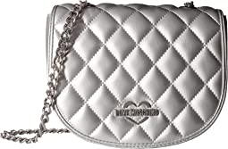 LOVE Moschino - Metallic Quilted Crossbody