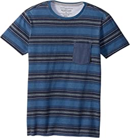 Quiksilver Kids - Bayo Pocket Short Sleeve Top (Big Kids)