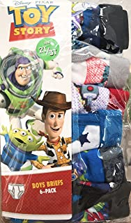 【Disney PIXAR】TOY STORY (トイストーリー) ボーイズパンツ 6枚セット サイズ:95cm~100cm 男児 男の子 年少さん 幼児 2歳 3歳 2才 3才 95センチ 100センチ Disney(ディズニー) ピクサー 下着 パンツ インナー ブリーフ【ピクサー】