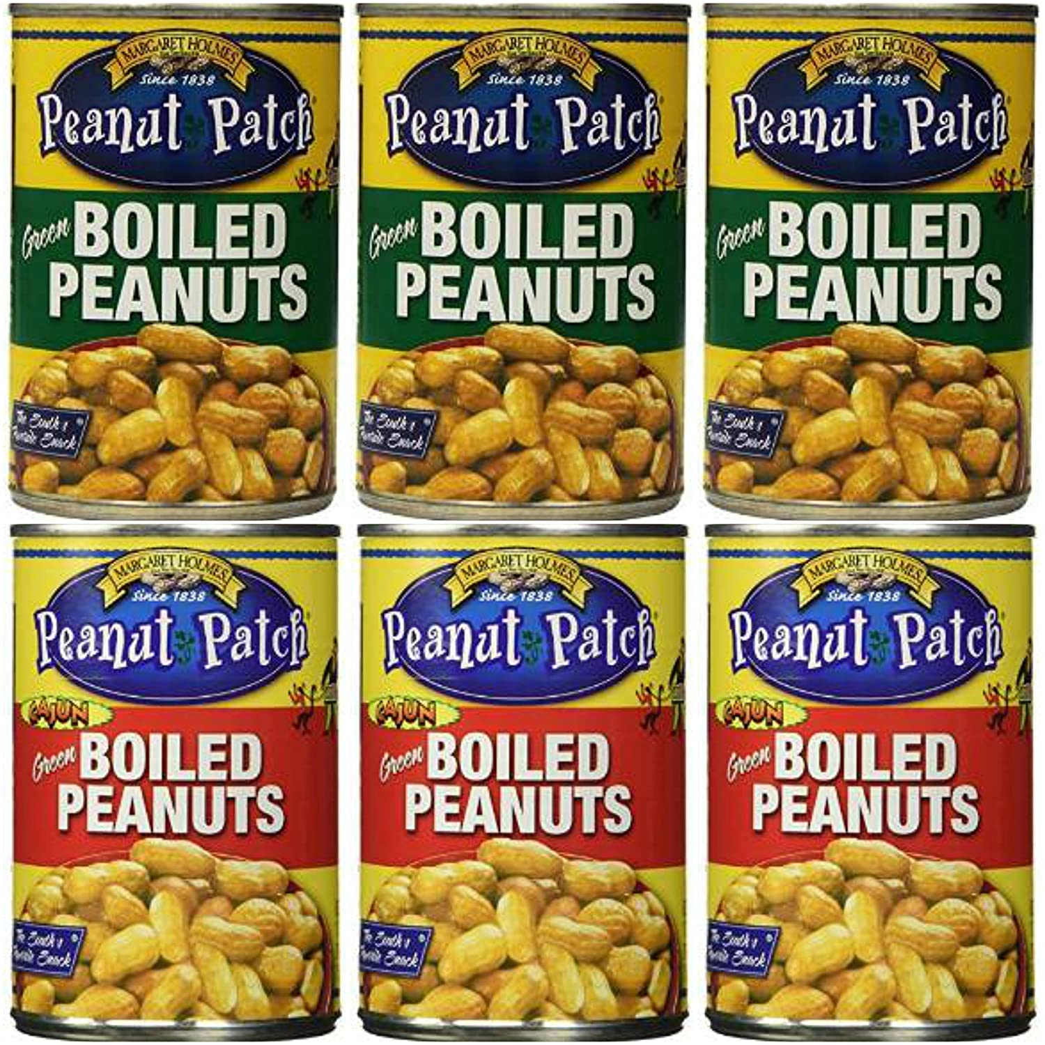 3 Pack Ranking TOP5 Boiled Peanuts and Large-scale sale of Cajun Total