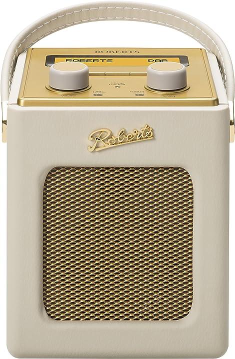 Radio portatile revival mini crema roberts radio B008V9MORO