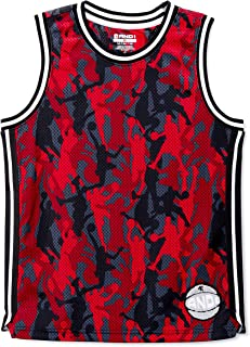 AND1 Racing Red Camo Basketball Jersey