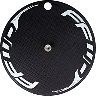 FFWD Wheels | DISC-T | Carbon Front Track Disc Tubular Wheel White