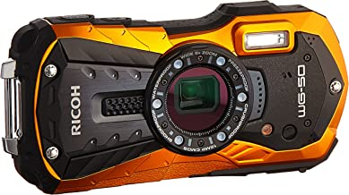 Ricoh WG-50 16MP Waterproof Still/Video Camera Digital with 2.7