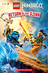 Return of the Djinn (LEGO Ninjago: Reader) (LEGO Ninjago Reader Book 15) Kindle Edition