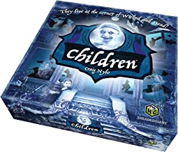 Quirky Engine Entertainment Children: The Horror Game - 13 Ghosts and Spirits, a Haunted Mansion, and Bewitched Objects - Scary Board Game for 2 to 4 Players