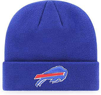 Style Solid Color Beanie Hat for Boys Girls Kids Knit Cap Cute Soft Buffalo-Bills-Logo