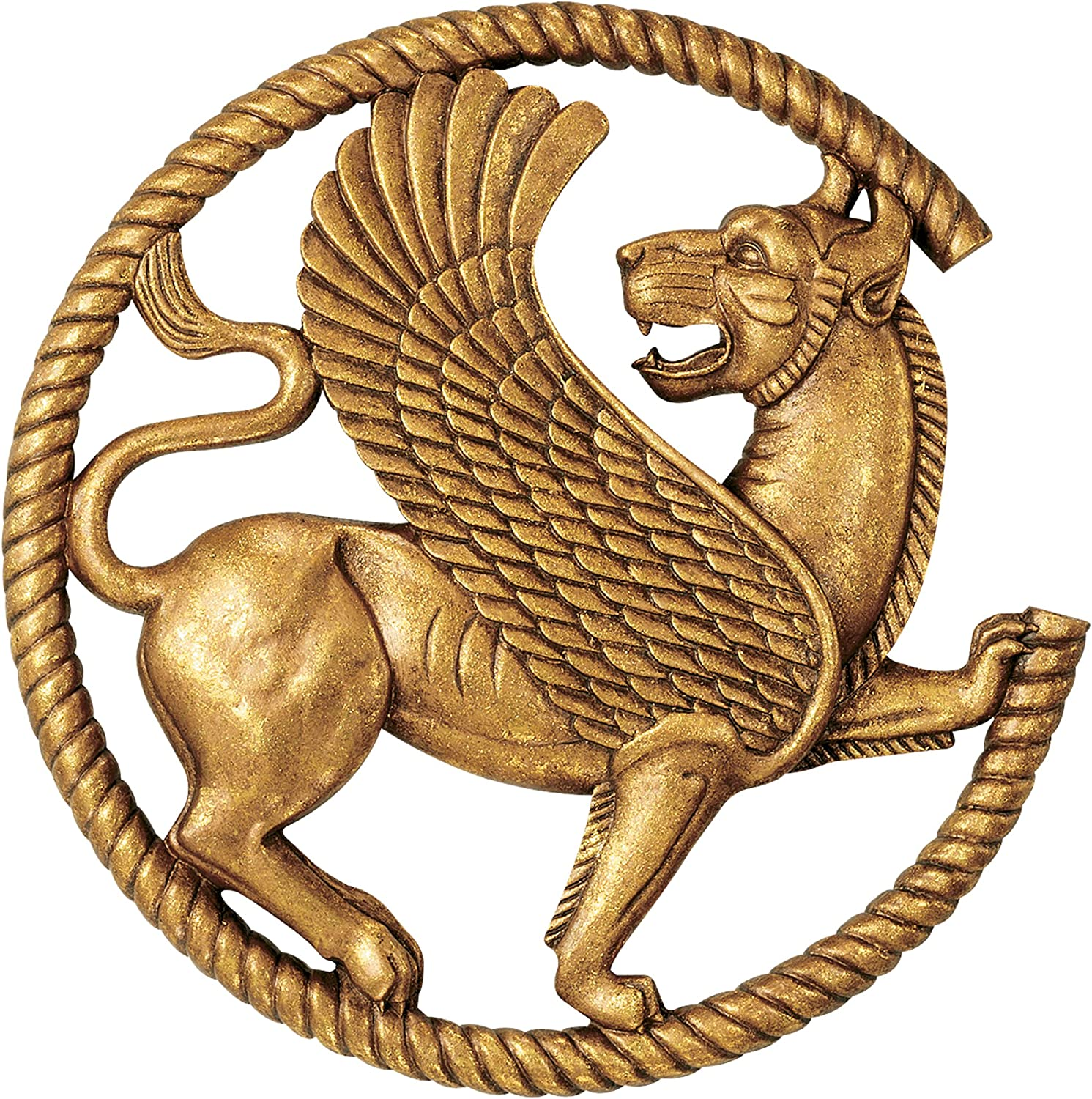 Design Minneapolis Mall Toscano Persian Griffin Wall Sculpture 12 Inch Antique 2021 spring and summer new