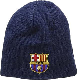 FC Barcelona Knitted Core Beanie Hat - FCB Bronx Beanie - Great Barcelona Fan Knitted Hat