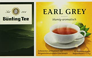 Bünting Tee Earl Grey 20 x 1.75g Beutel, 12er Pack 12x 35 g