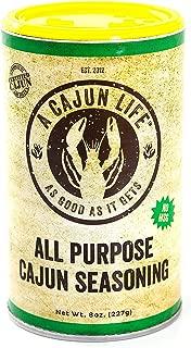 A Cajun Life Original All Purpose Cajun Seasoning | Authentic Certified Cajun and Creole Seasoning Blend, Non-GMO, No MSG, Gluten Free Cajun Spice That's Great On Everything.