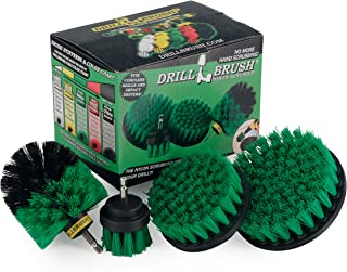 Cleaning Supplies - Kitchen Accessories - Drill Brush - Stove - Oven - Sink - Backsplash - Flooring - Cast Iron Skillet - Spin Brush - Dish Brush - 4 Drill Powered Kitchen Brush - Tile - Grout Cleaner