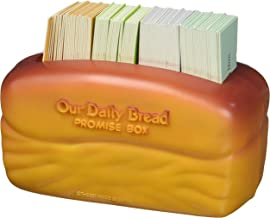 """DaySpring Our Our Daily Bread Promise Box with Scripture Cards, 4 1/4"""" x 2 1/4"""" x 2"""", Brown - T9651"""