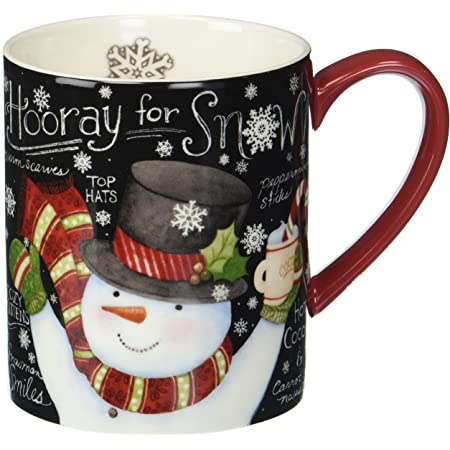 Santa Claus 14 Ounce Holiday Coffee Soup Mug