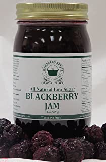 Blackberry Jam, All Natural/Low Sugar, 18 oz