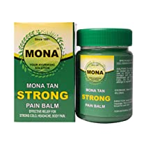 MONA LAB – TAN Strong Pain Balm (8 ml / 8 grams / 8gms) pack of 4 (total 32 grams)