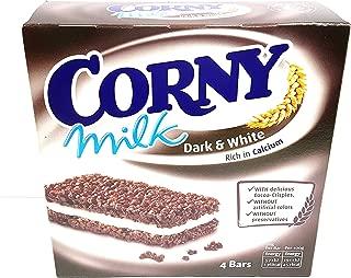 CORNY Cereal Bar, Milk Dark & White, 30 gm (Pack of 4)