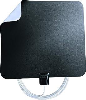 Winegard FL5500A FlatWave Amped Digital HD Indoor Amplified TV Antenna (4K Ready / ATSC 3.0 Ready / High-VHF / UHF), 60 Mi...