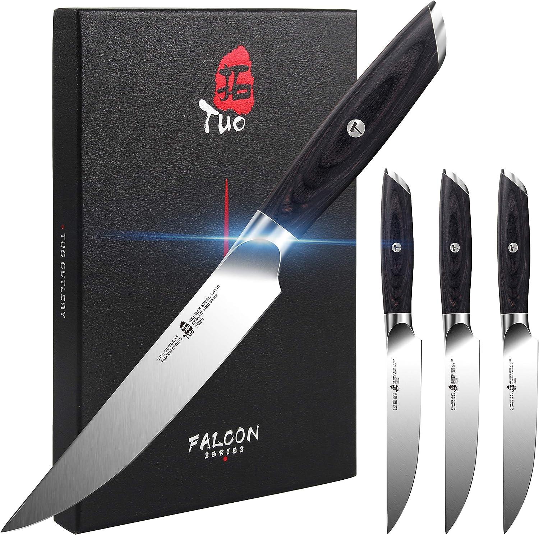 TUO Steak 買取 Knife Set - 4 5 Kitchen inch 注目ブランド German