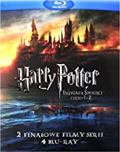 MOVIE/FILM-HARRY POTTER I INSYGNIA SMIERCI CZESCI 1 I 2 (4 BD)