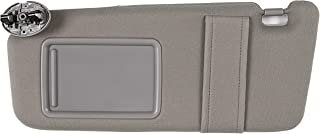 Ezzy Auto Gray Left Driver Side Sun Visor fit for Toyota Camry Without Sunroof 2007 2008 2009 2010 2011