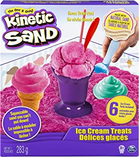 Kinetic Sand Ice Cream Treats - Arena cinética (Rosa, Chica)