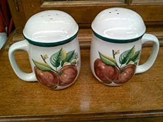 Apples, Casuals by China Pearl, Stoneware Salt & Pepper