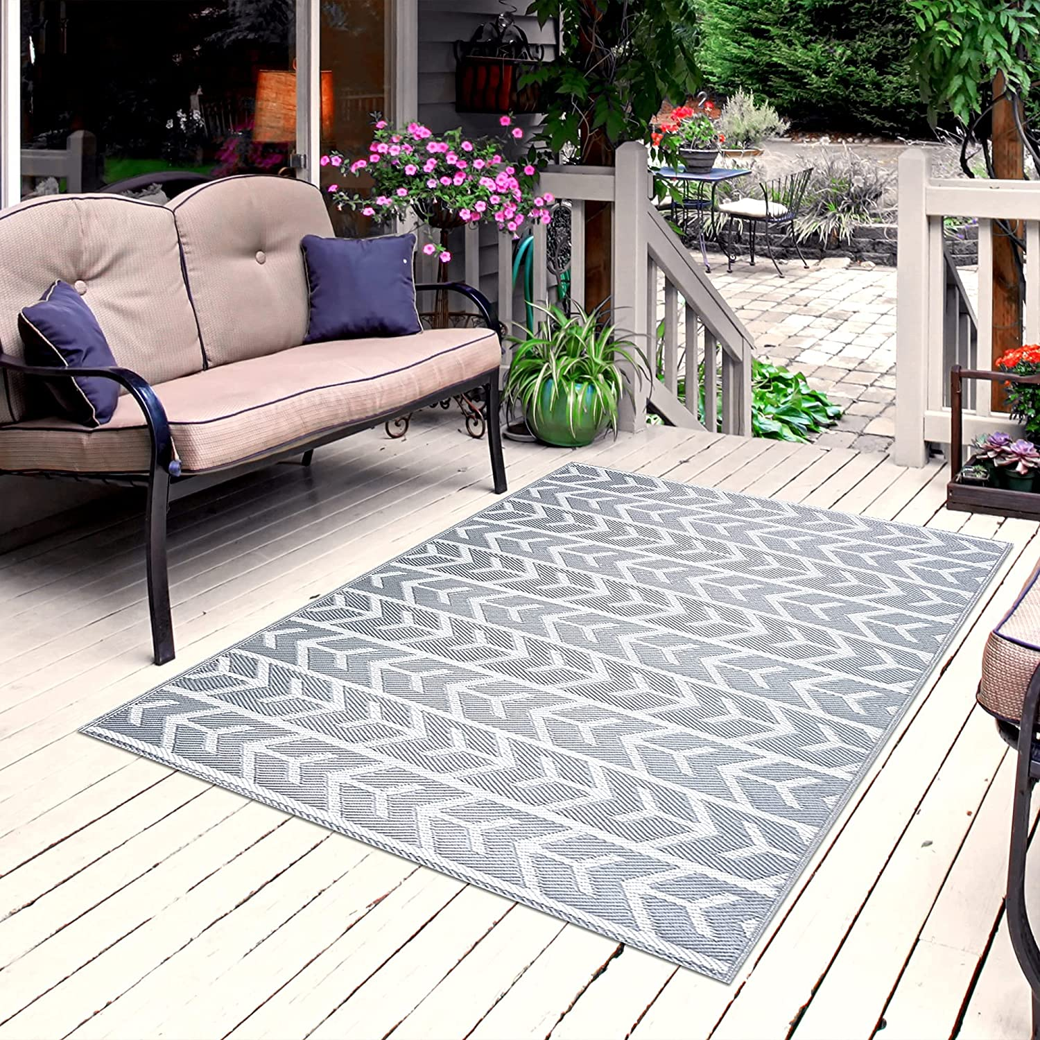 Playa Rug Reversible Indoor Outdoor Plastic Recommended 100% Floor Recycled Max 58% OFF