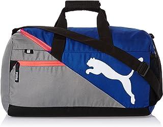 9b9d3128530c7c Puma Polyester Mazarine Blue and Red Blast Gym Bag (Multicolour)