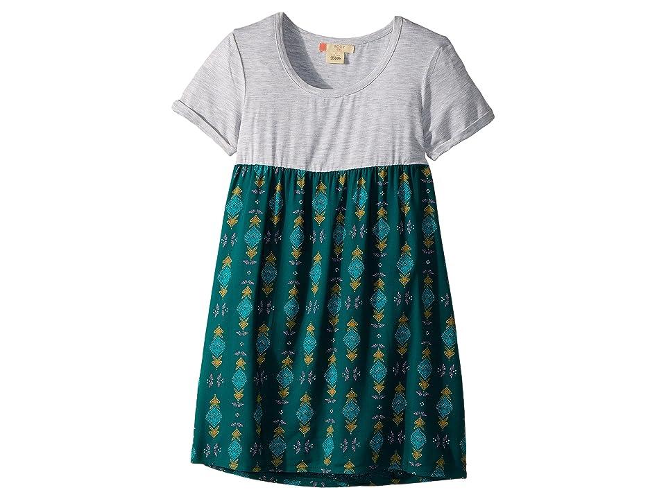 Roxy Kids Branche of Lilac 2 Dress (Big Kids) (Pacific Little Desert) Girl