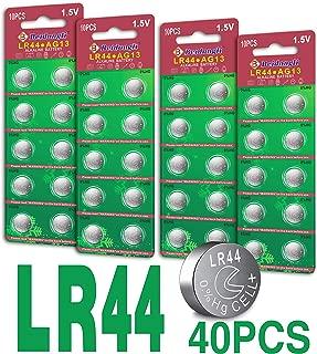 Beidongli Brand AG13 LR44 357 303 SR44 Battery 1.5V Button Coin Cell Batteries 20pack 40pack (40pack)