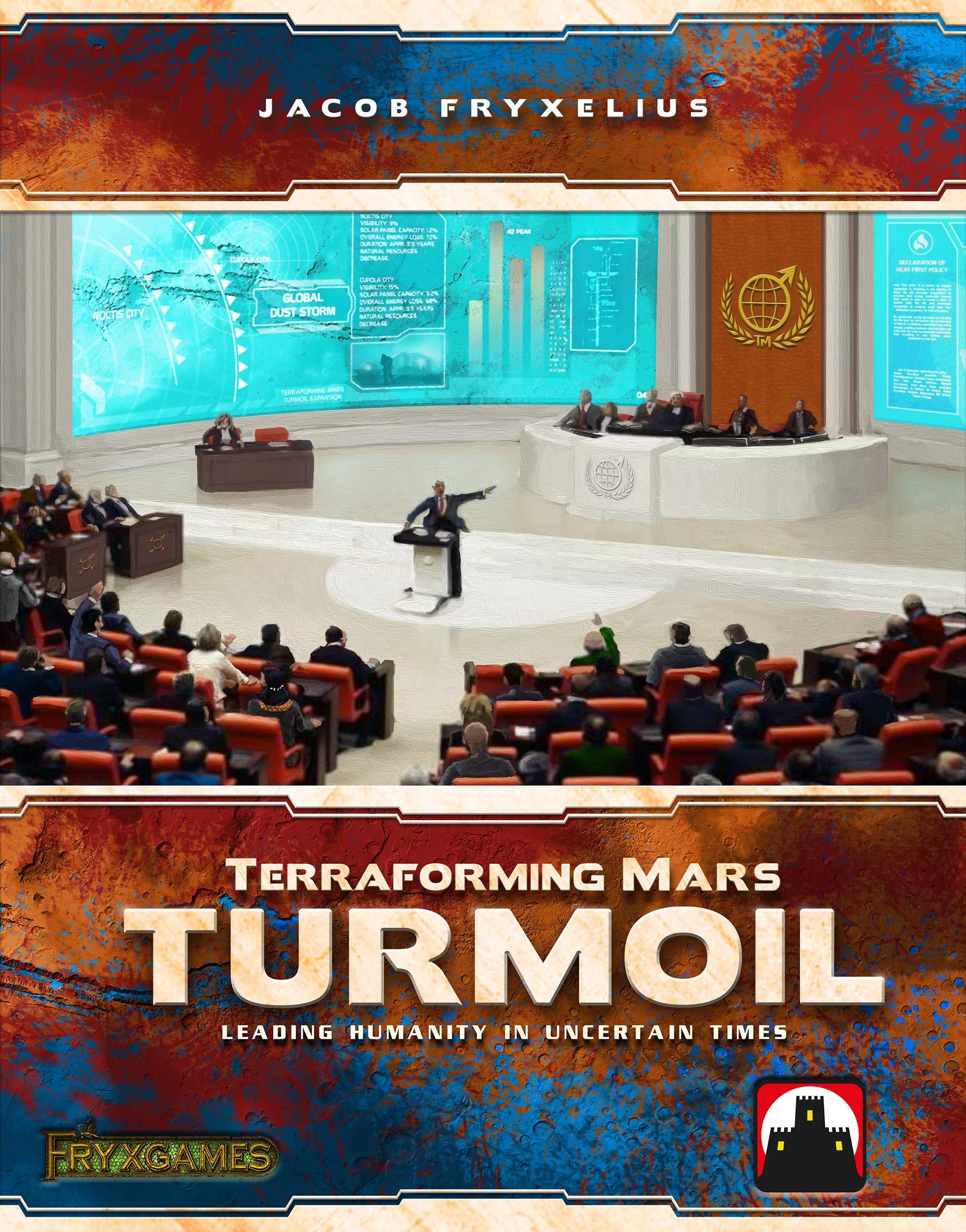 Terraforming Mars: Turmoil Board Game Expansion: Amazon.es ...