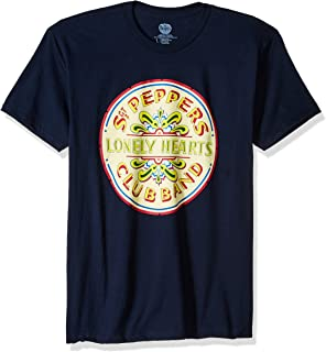 Men's The Beatles Lonely Hearts Seal T Shirt
