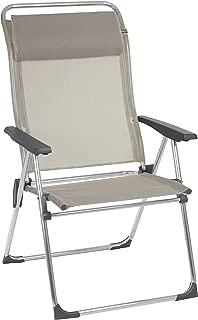 Lafuma LFM27742178 Camping & Beach-Aluminium & Steel Foldable Chairs, Seigle