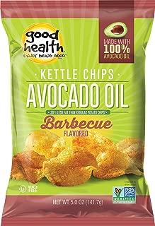 Good Health Avocado Oil Potato Chips, Barcelona BBQ, 5-Ounce (Pack of 12)