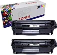 HIINK Comaptible Toner Cartridges Replacement for HP 12A Q2612A Toner use with HP Laserjet 1010 1012 1015 1018 1020 1022 1022n 1022nw 3015 M1005 M1319F Printer (Black, 2-Pack)