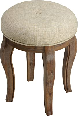 Pleasing Amazon Com Round Patchwork Embroidered Multi Ottoman Pouf Machost Co Dining Chair Design Ideas Machostcouk