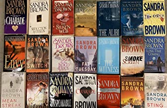 Sandra Brown Romantic Thriller Novel Collection 20 Book Set