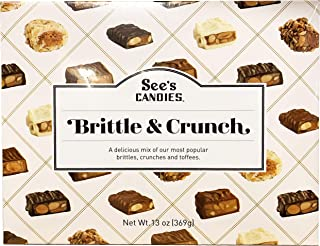 See's Candies Limited Edition Brittle & Crunch 13 oz Gift Box