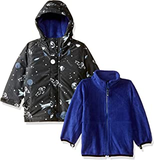 The Children's Place Boys' Baby Allover Printed 3 in 1 Jacket