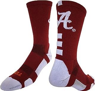 Alabama Crimson Tide Baseline Crew Socks
