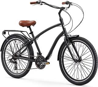 sixthreezero EVRYjourney Men's Hybrid Alloy Cruiser Bicycle and eBike