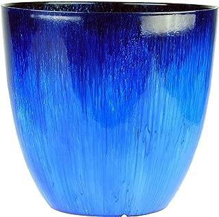 Gardener Select EPR15-204 Egg Planter Blue Flower, 15