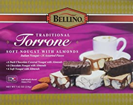 Bellino Assorted Torrone (Nougat) Candy, 7.62 Ounce Box