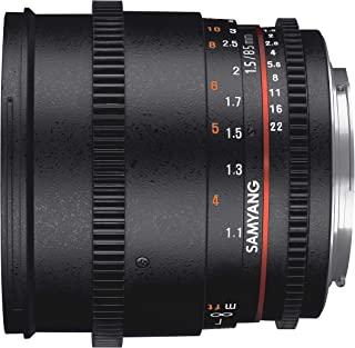 Samyang 85mm T1.5 Cine Manual Camera Lens for Sony E Mount