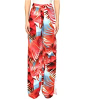 Just Cavalli - Palm Print Pants